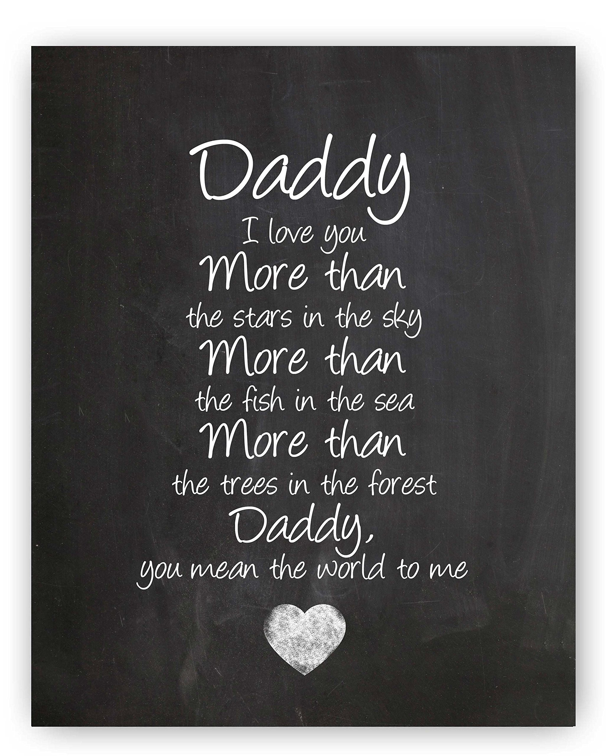 To My Son On Father S Day Quote: Amazon.com: Daughter Gift, Daughter Quote Sign, Unique