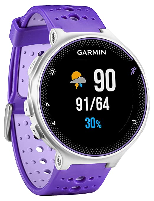 212 opinioni per Garmin Forerunner 230 Sportwatch GPS da Corsa e Fascia Cardio, Viola/Bianco
