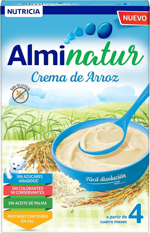 Alminatur Papilla de crema de arroz a partir de los 4 meses 250 g