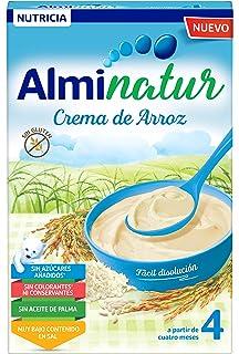 Alminatur Papilla de crema de arroz a partir de los 4 meses Paquete de 7 x
