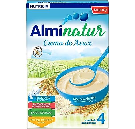 Alminatur Papilla de cereales sin gluten a partir de los 4 meses - 250 g: Amazon.es: Alimentación y bebidas