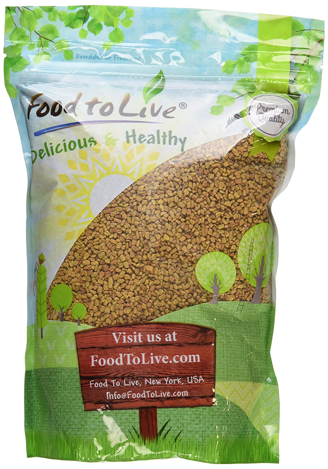 Food to Live Semillas de fenogreco (Methi) (Kosher) - 2.5 Libras: Amazon.es: Alimentación y bebidas