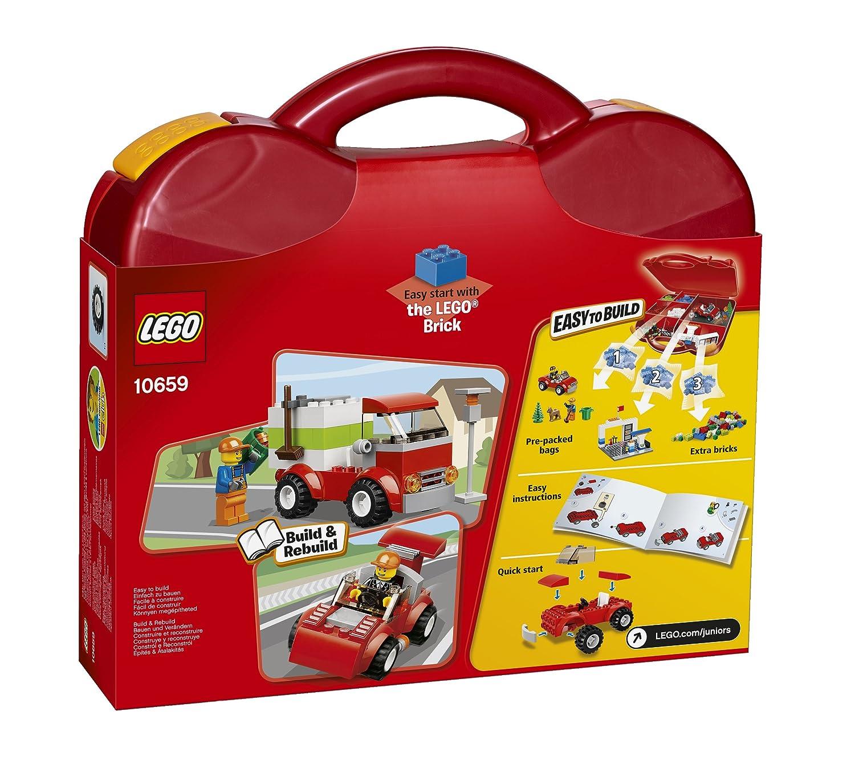 LEGO Juniors Vehicle Suitcase, Building Sets - Amazon Canada