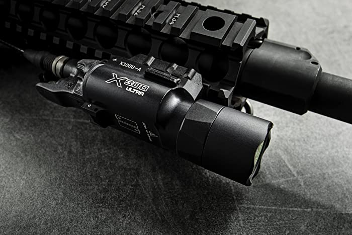 SureFire X300 Ultra LED Handgun or Long Gun WeaponLight with Rail-Lock Mount