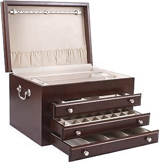 product image for Majestic Jewelry Box Finish: Mahogany