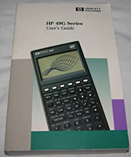 hp 48g series users guide 8th edition unknown amazon com books rh amazon com hp48gx user manual hp-48gx advanced user guide