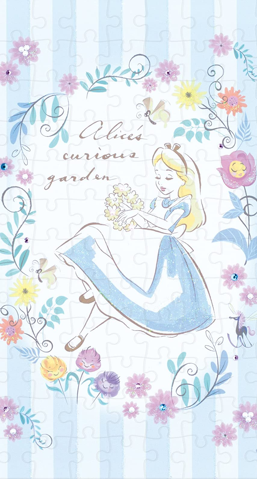 ディズニー ふしぎの国のアリス Alice(アリス) iPhone8/7/6s/6 壁紙 視差効果画像
