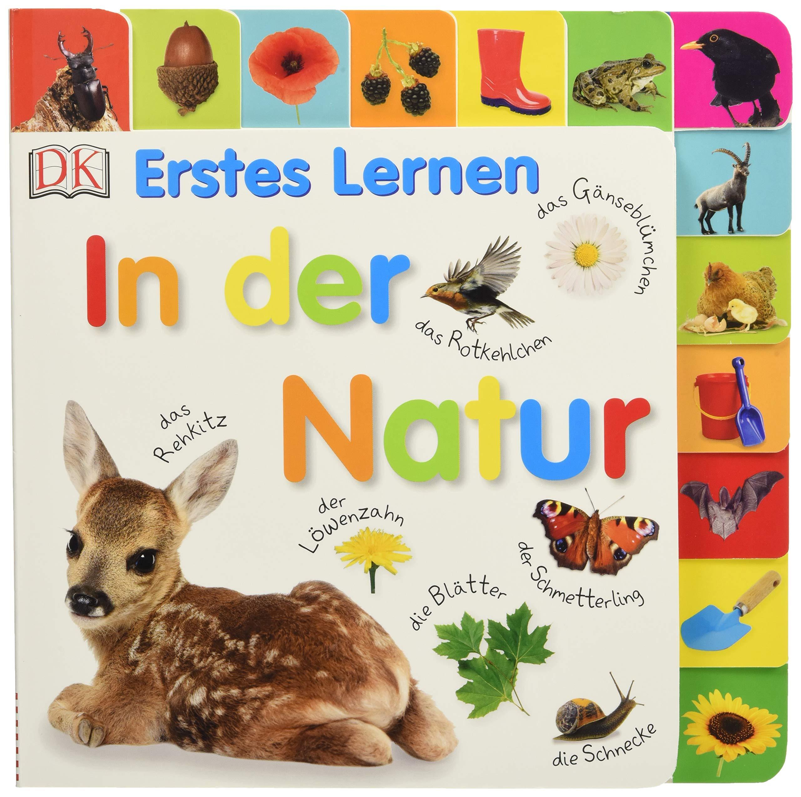 Erstes Lernen. In Der Natur  Pappbilderbuch Mit Griff Register Und über 100 Fotos Ab 1 Jahr