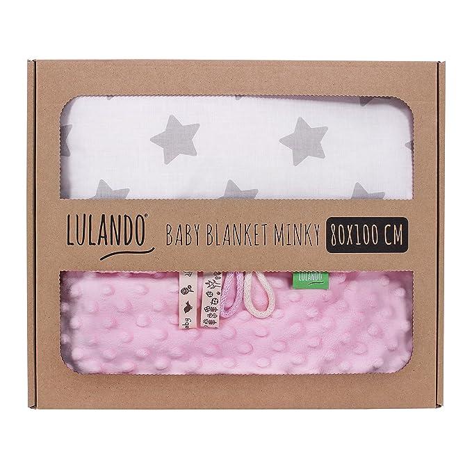 9 opinioni per LULANDO Copertina da neonato Coperta per bambino 100% cotone (80x100 cm). Super