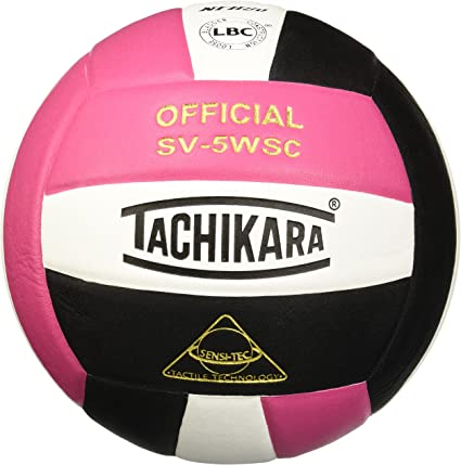 Tachikara SV5WSC - Balón de Voleibol compuesto de Sensi Tec de ...