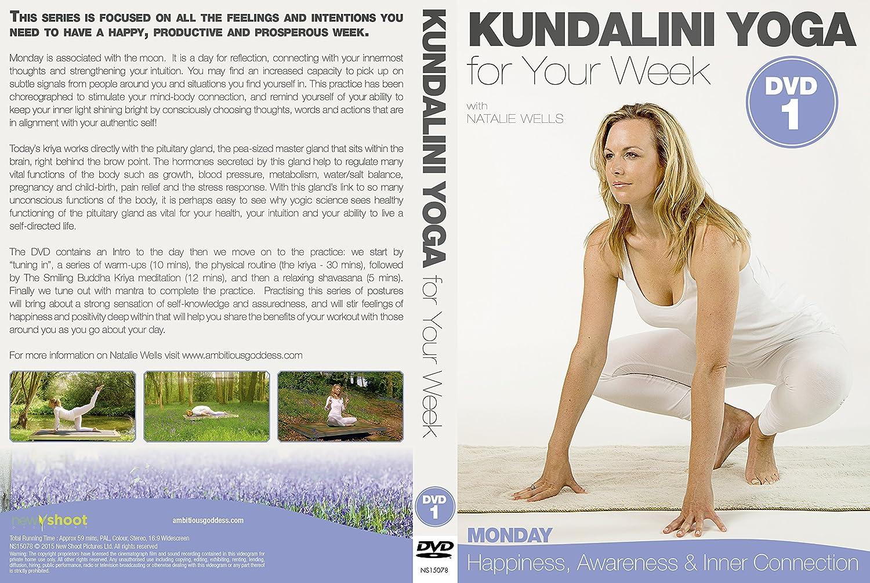 KUNDALINI YOGA for Your Week - MONDAY - DVD1: Amazon.es ...