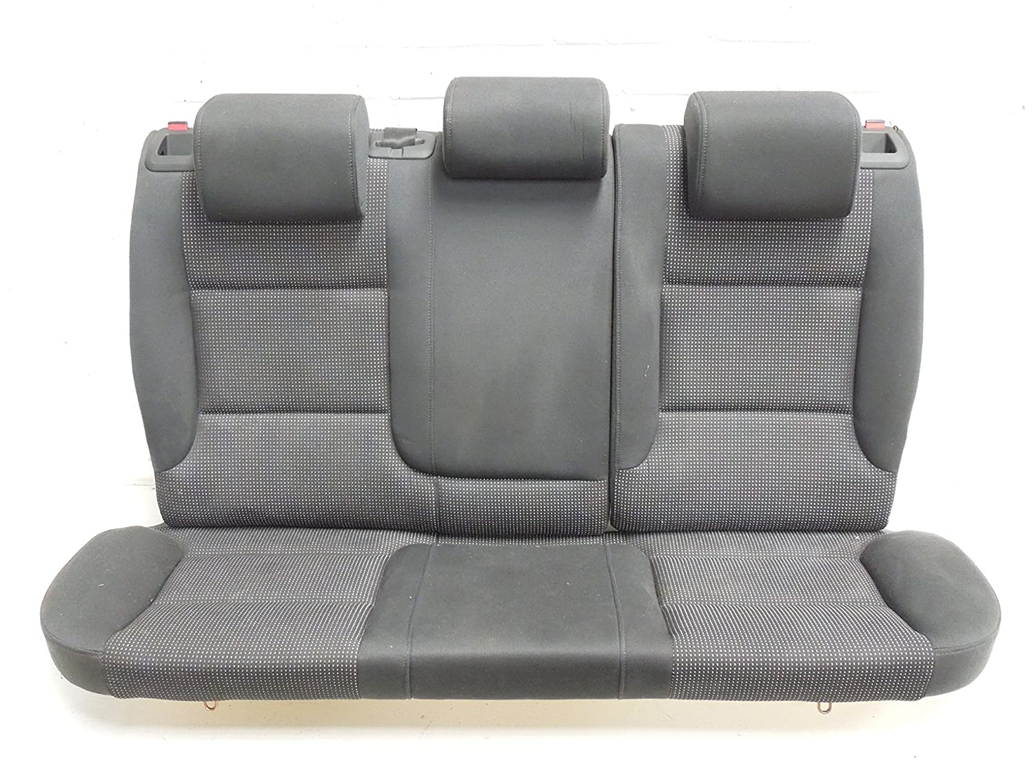 Audi A3 8P 3 Door Black Cloth Split Folding Rear Seats