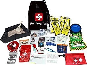 Pet Evac Pak, LLC Premium Cat Emergency Survival Kit Without Carrier - 72 Hours
