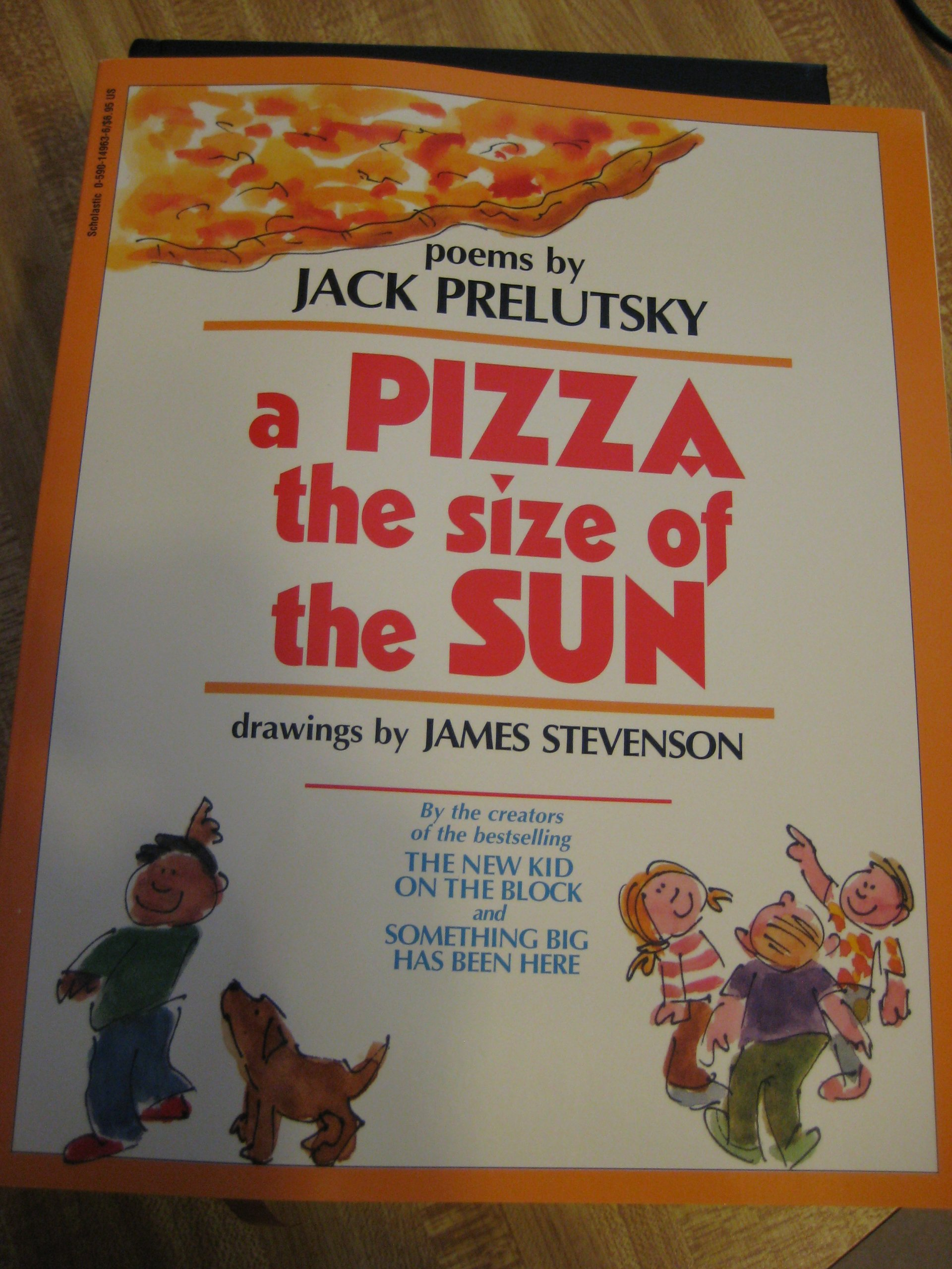 A Pizza the Size of the Sun ebook