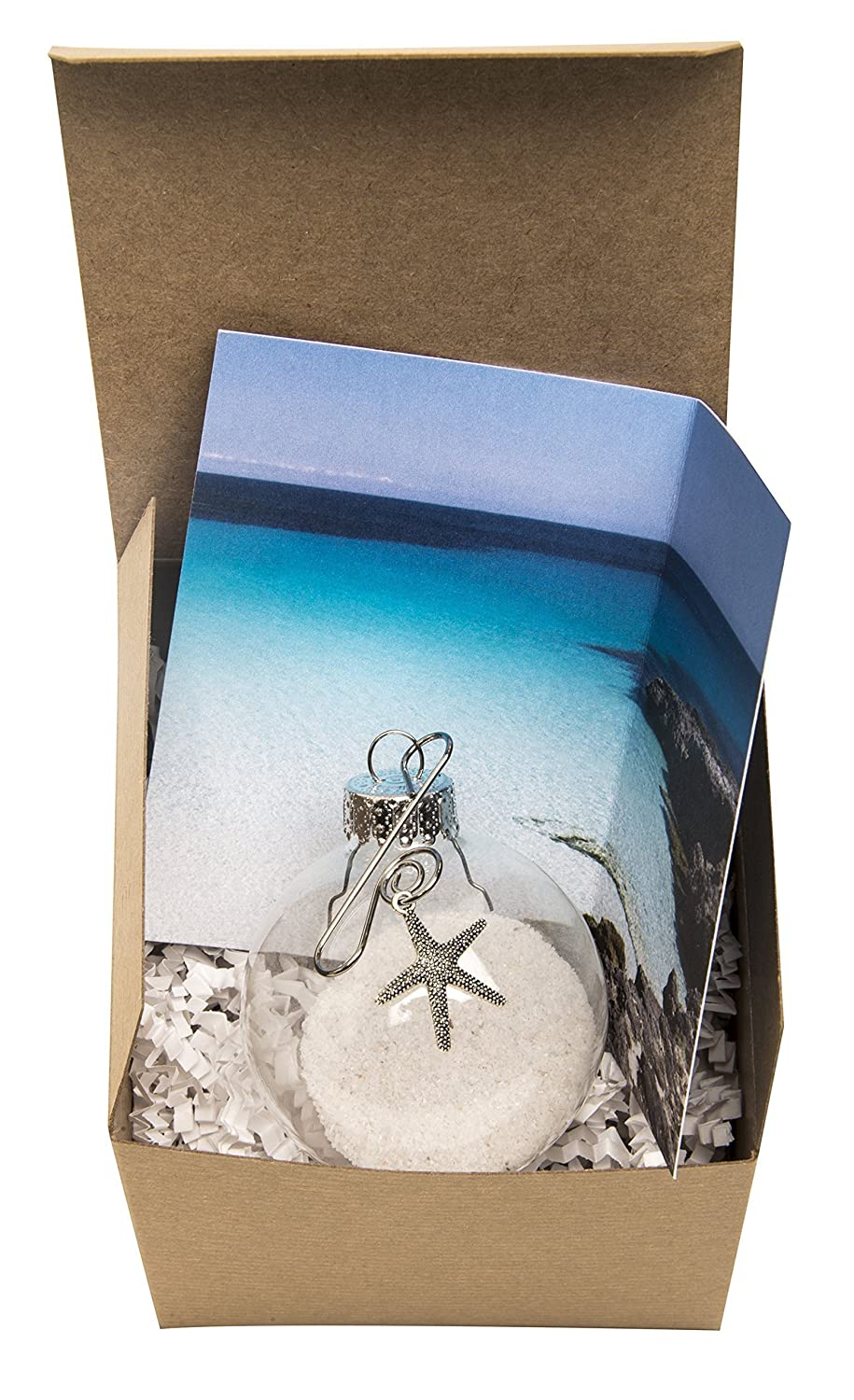 Sand and Starfish Story Ornament. Made a Difference to that One Story Card Gift Boxed |For volunteers and Those who make a Difference.