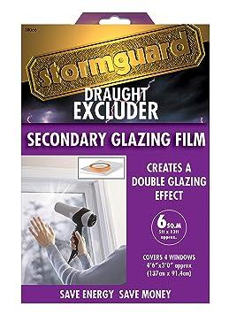 Film Isolant Pour Fenêtres Et Kit Double Vitrage 6 Mètres Carrés