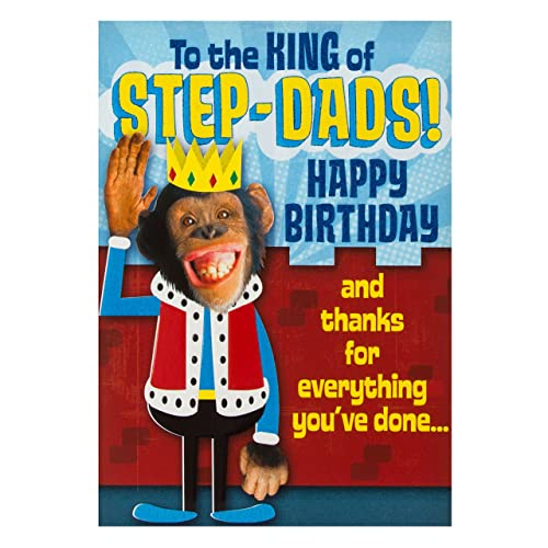 Step Dad Birthday Card: Amazon.co.uk: Kitchen & Home