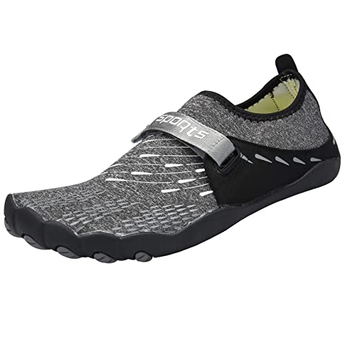 11b736c2bda84 Zcoli Water Shoes for Women Men Barefoot Quick Dry Aqua Yoga Socks for  Beach Swim Surf Diving Snorkeling Exercise