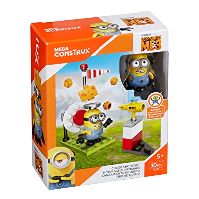 Mega Construx Despicable Me Cheese Shootout Building Set: Toys & Games
