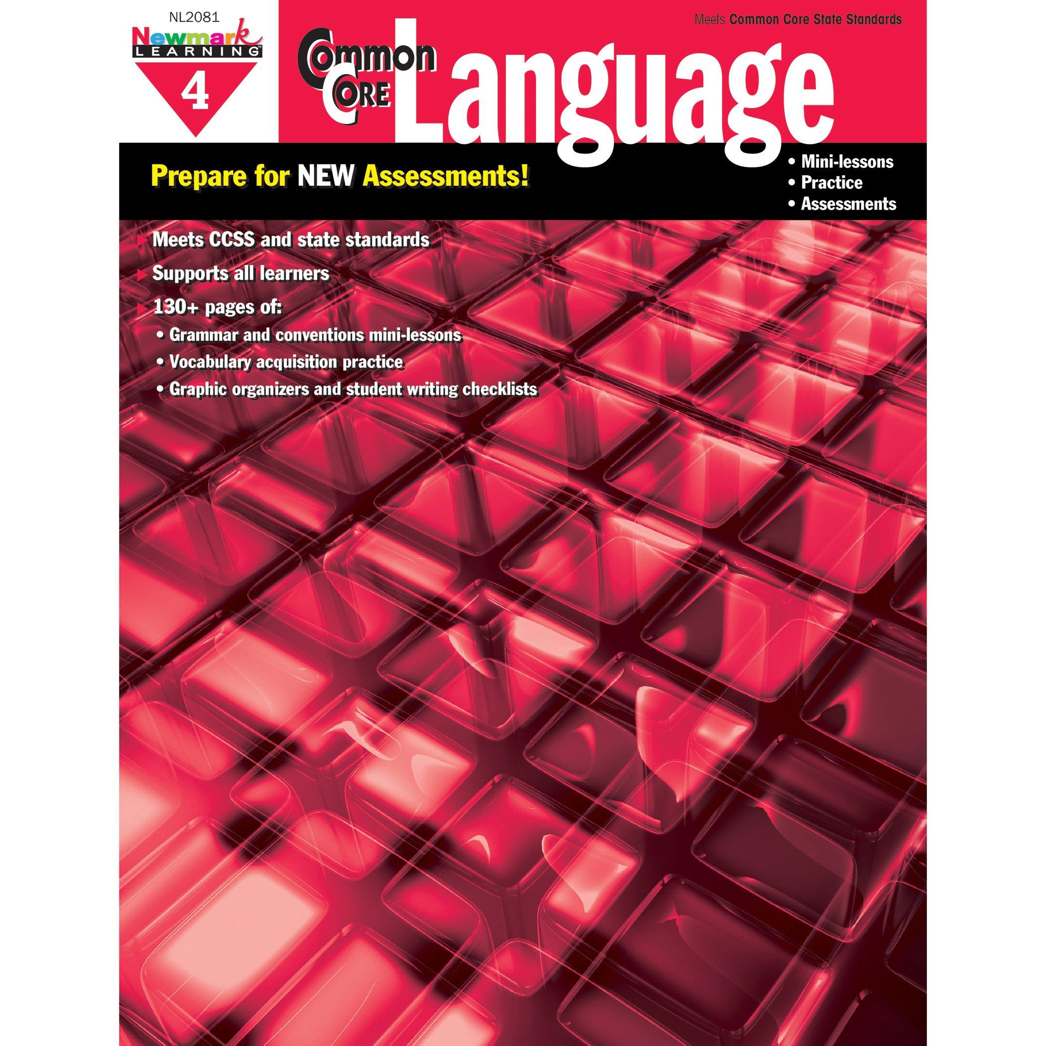 Common Core Practice Language Grade 4 (CC Language)