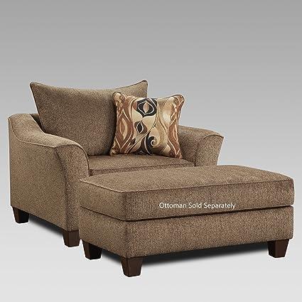 Amazon.com: Roundhill Furniture LAF7701CC Camero Cafe Fabric ...