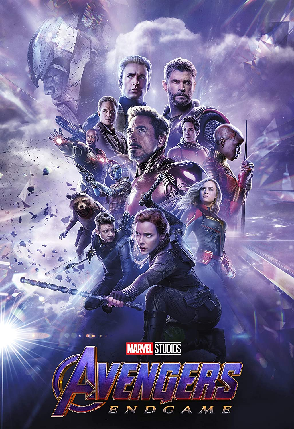 Amazon Com Movie Poster Avengers Endgame 2019 13 In X 19 In Borderless Free 1 Tile Magnet Posters Prints