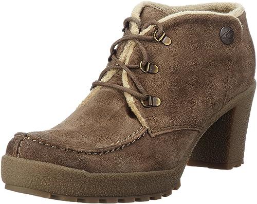 camel active Pisa 11 774.11.03 - Botines fashion de ante para mujer: Amazon.es: Zapatos y complementos