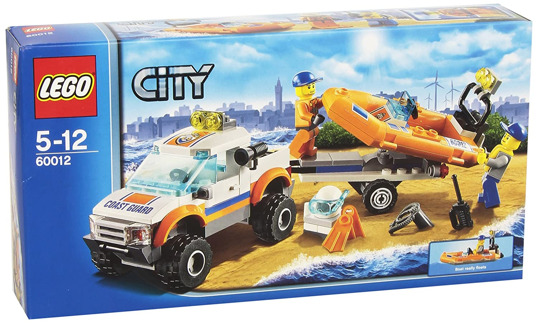 lego city 60012 jeu de construction le transporteur du bateau du garde ctes amazonfr jeux et jouets