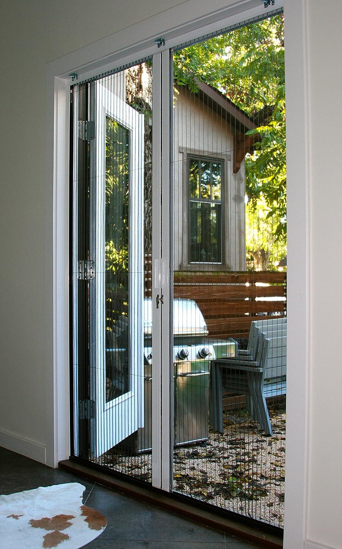 Double Door Retractable Door Screen Up To 82 Tall 72 Wide