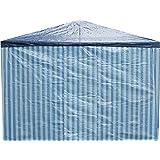 2 x Seitenteile ohne Fenster für Pavillion Pavillon Zelt Festzelt in Blau