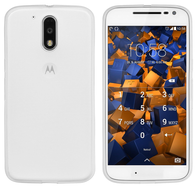 Mumbi Ultraslim móvil para Motorola Moto G4/G4 Plus Carcasa Transparente (Ultra Slim – 0.55 mm)