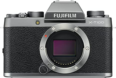 Fujifilm X-T100 - Cámara digital , color plata: Amazon.es: Electrónica