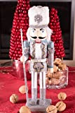 Traditional Snow King Nutcracker by Clever