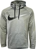 Nike Mens Club Swoosh Hoodie heather grey