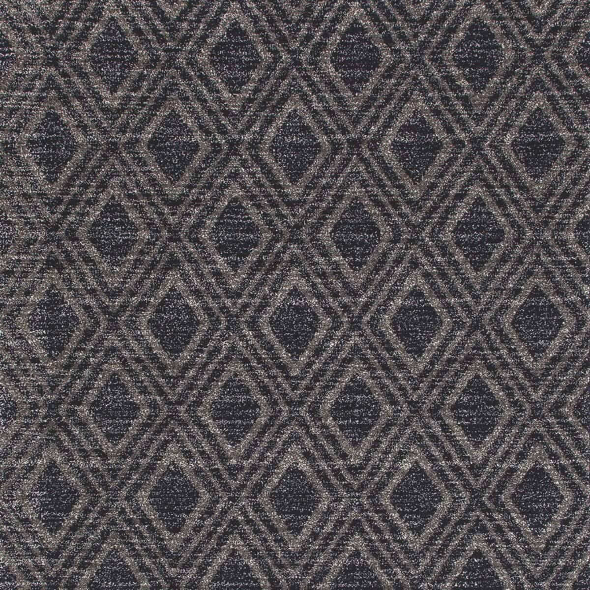 Art Carpet Highline Collection Diamond Grid Woven Square Geometric Area Rug, Square 6 7 , Gray Navy