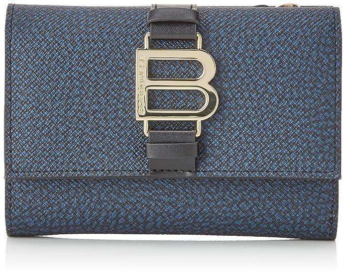 Borbonese - P.monete, Carteras Mujer, Azul (Blu), 14x11x3.5 ...