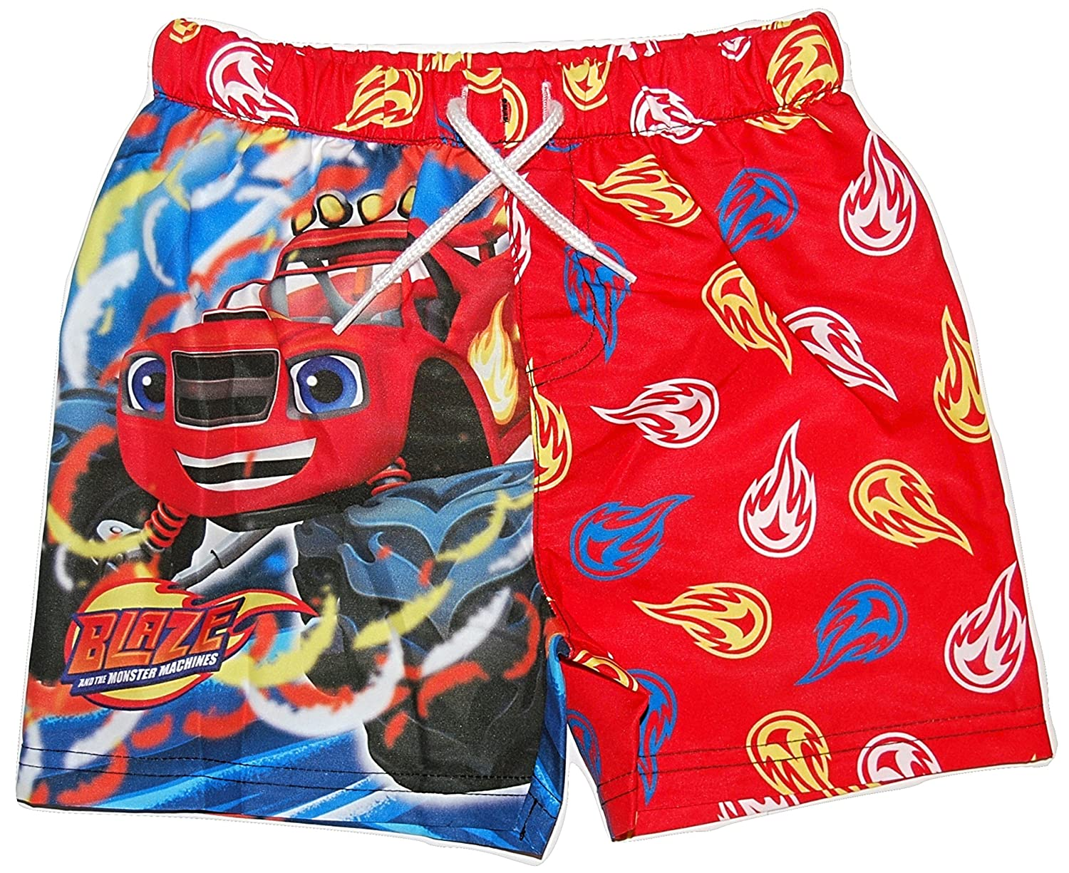 Boys Swimming Shorts Trunks Blaze & The Monster Machines 18-24 Months to 4-5 Years