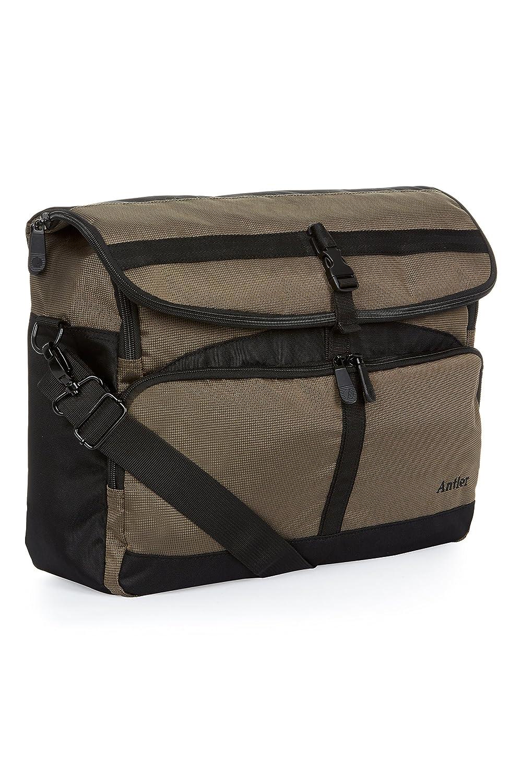 Antler Tundra Messenger Bag, 43 cm, 16 Liters, Khaki 3662109043