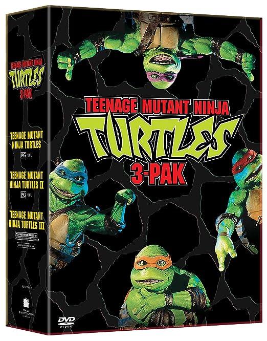 Amazon.com: Teenage Mutant Ninja Turtles Three Pack (Teenage ...
