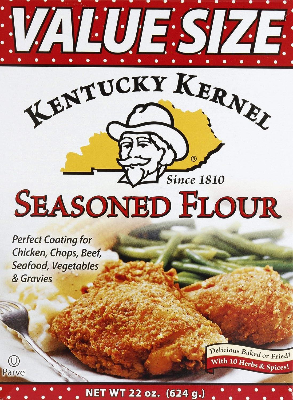 Kentucky Kernel Seasoned Flour, 22 Ounce (Pack of 6)