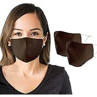 NEW Comfortable Face Mask for Women (2 Pack) Cloth Face Mask + Bonus Storage Bag