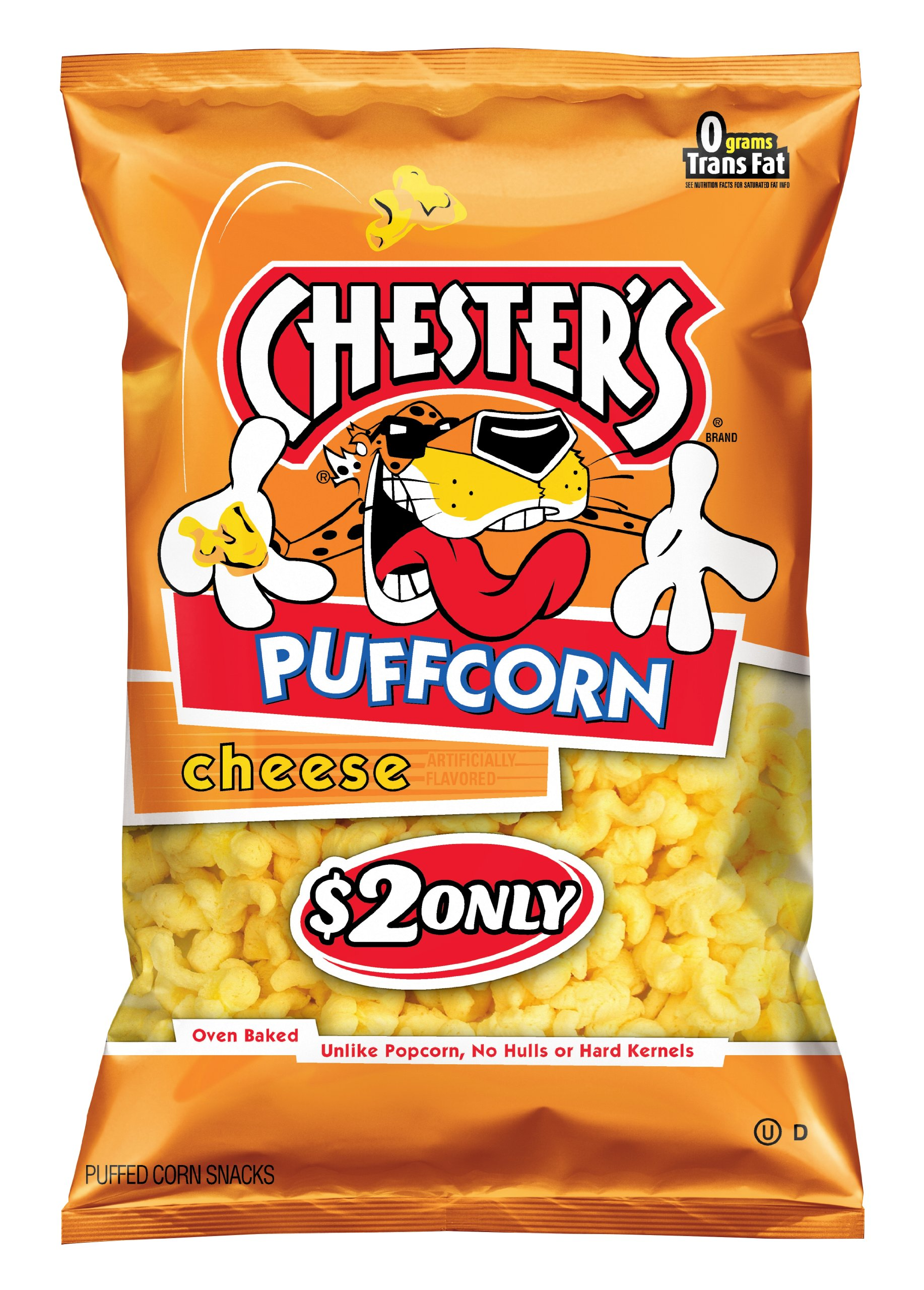 Chester's Puffcorn Snacks, Cheese, 4.5 Ounce