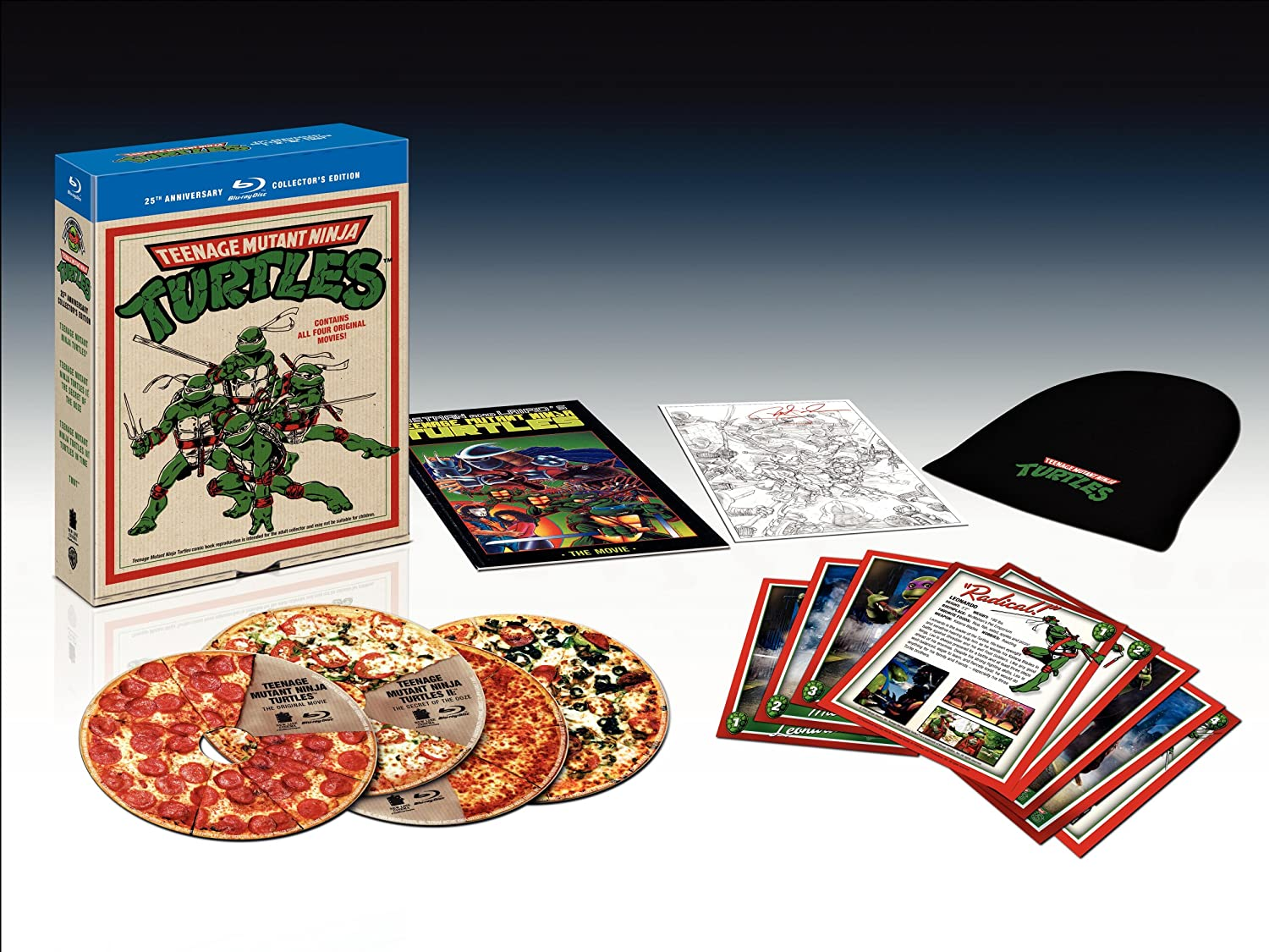 Amazon.com: Teenage Mutant Ninja Turtles: 25th Anniversary ...