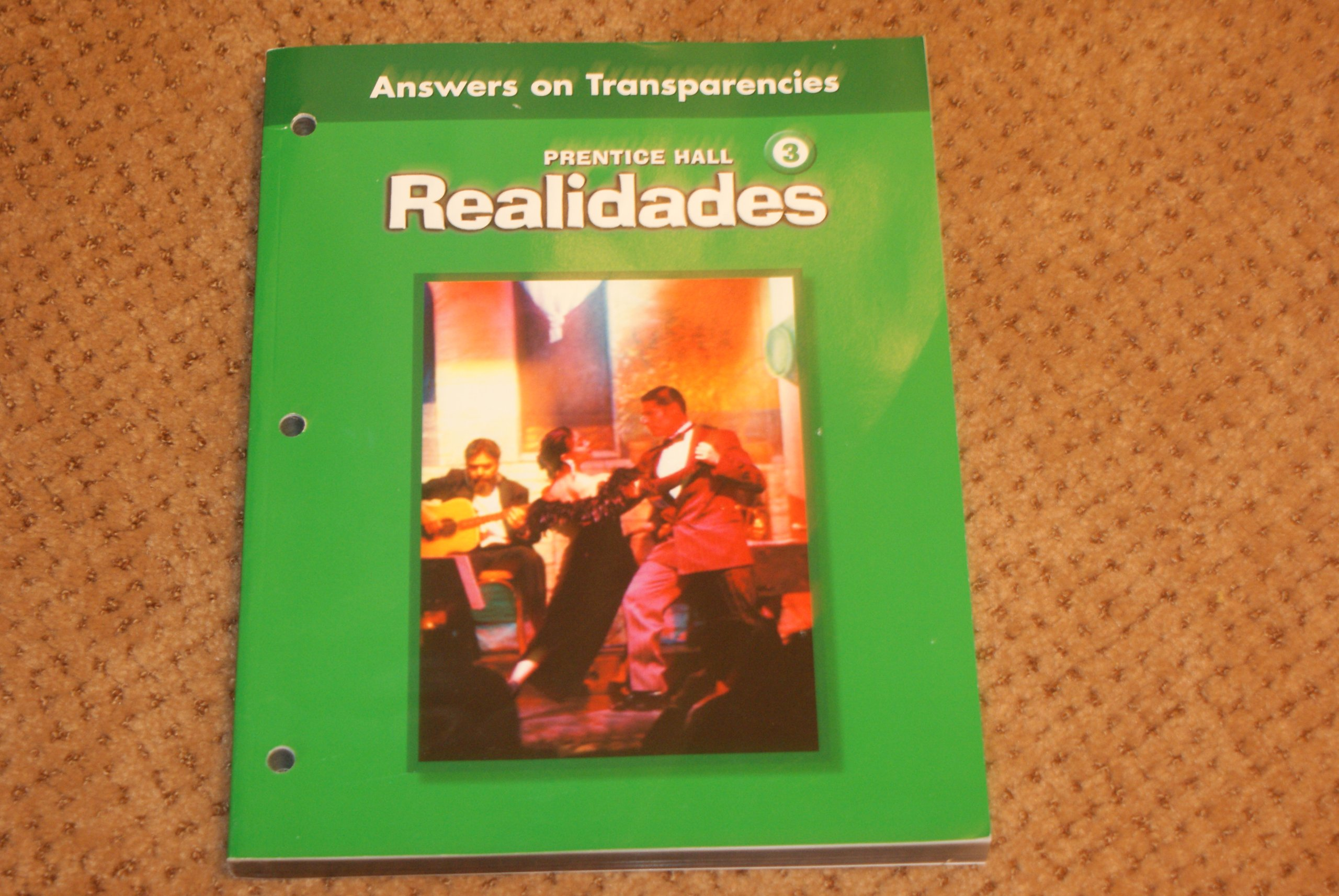 Realidades 3 practice answers on transparencies prentice hall realidades 3 practice answers on transparencies prentice hall 9780130360267 amazon books fandeluxe Choice Image