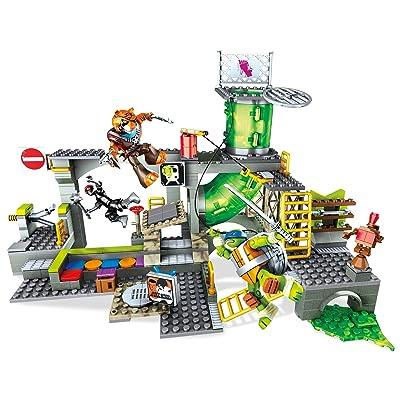 Mattel Mega Bloks dmx55–Teenage Mutant Ninja Turtles Secrets cachette