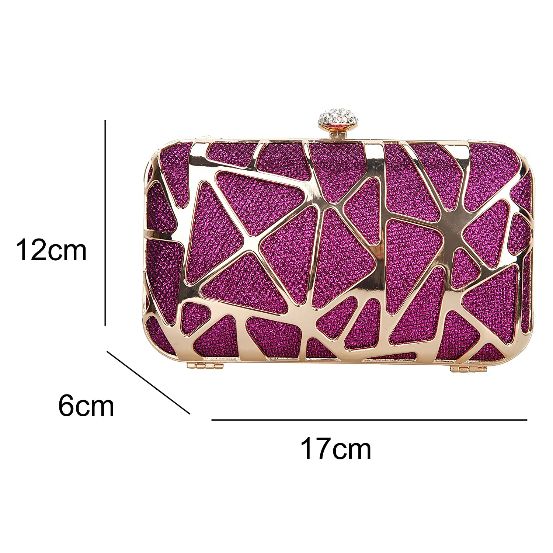 Amazon.com  Fawziya Water Cube Mini Glitter Box Purse Fashion Clutch Bags  For Women Evening Bags-Purple  Shoes 5e72bbfeeb07f