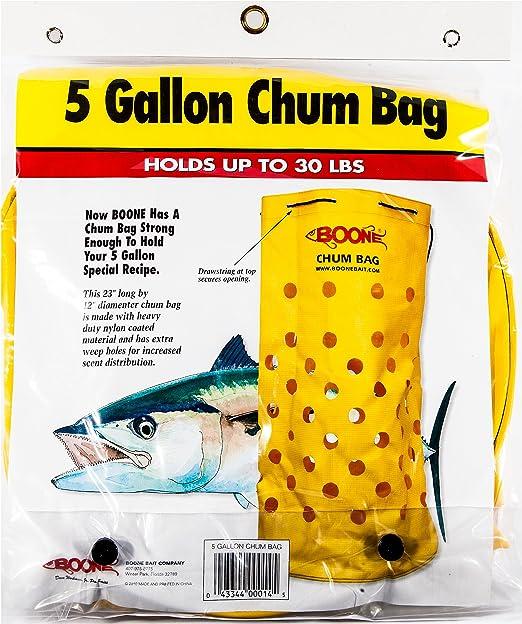 "Boone 5 Gallon Nylon Chum Bag 22/"" x 12/"" Lot of 3"