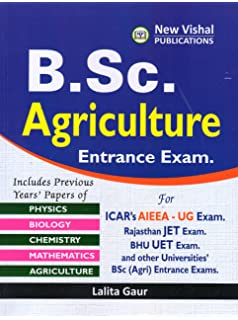 buy bsc agriculture entrance exam book online at low prices in