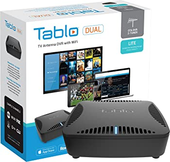 Tablo Dual LITE OTA DVR w/ WiFi for HDTV Antennas