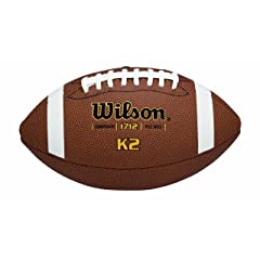 Wilson K-2 Pee Wee Composite Leather Game Football